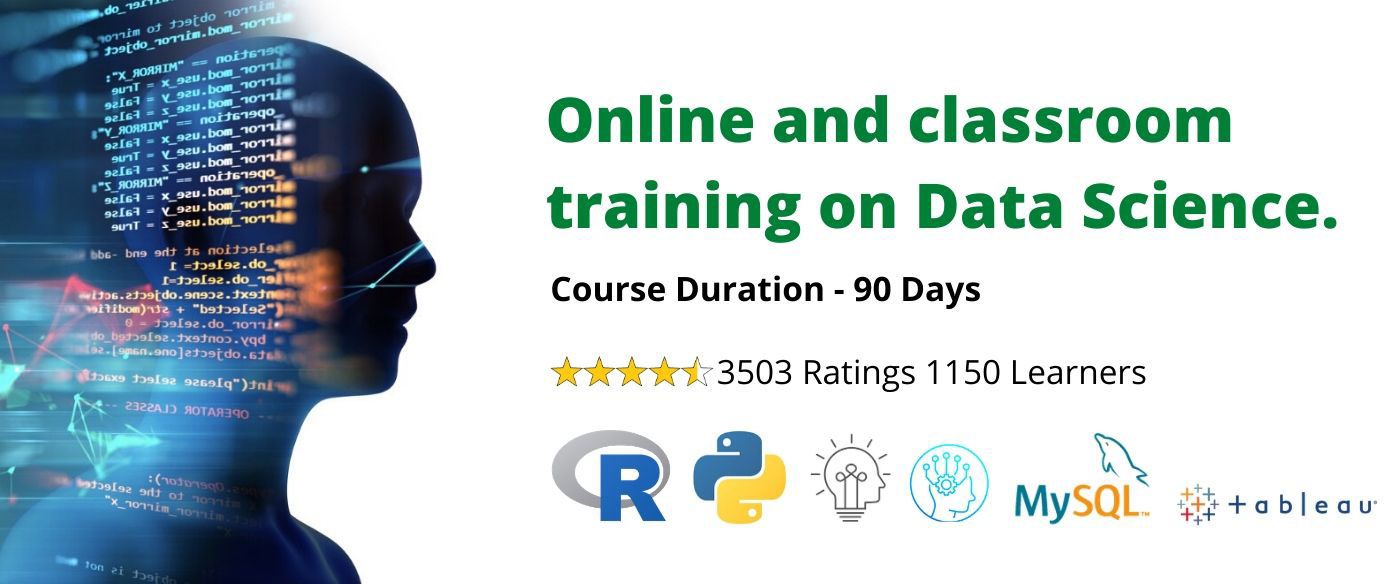 Online and classroom  training on Data Science